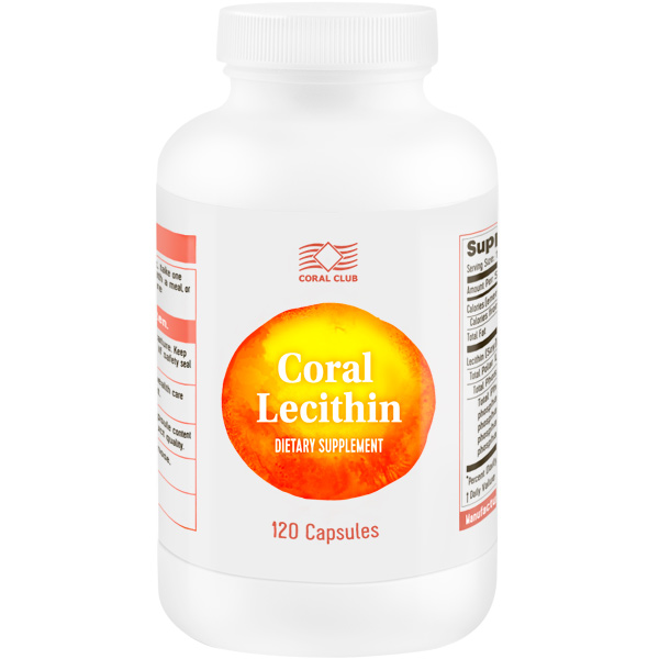 12 Coral Lecithin 120
